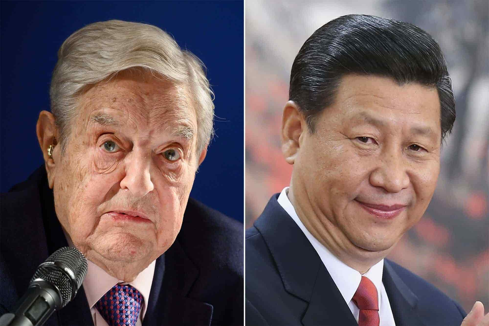 Soros Says Chinese President Xi is the Most Dangerous Opponent of Open Society