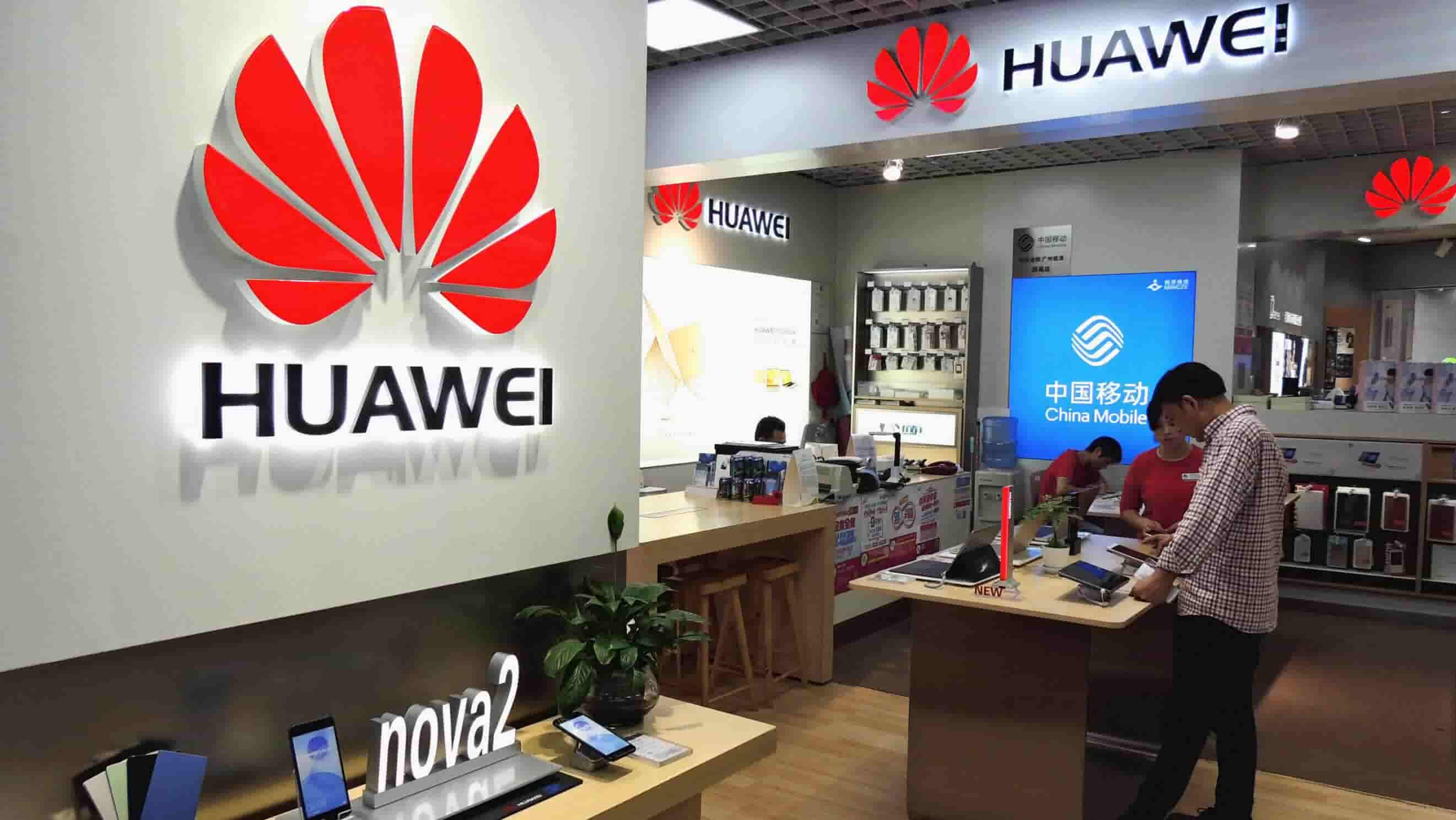 US ATTACKS CHINESE TECH FIRM HUAWEI
