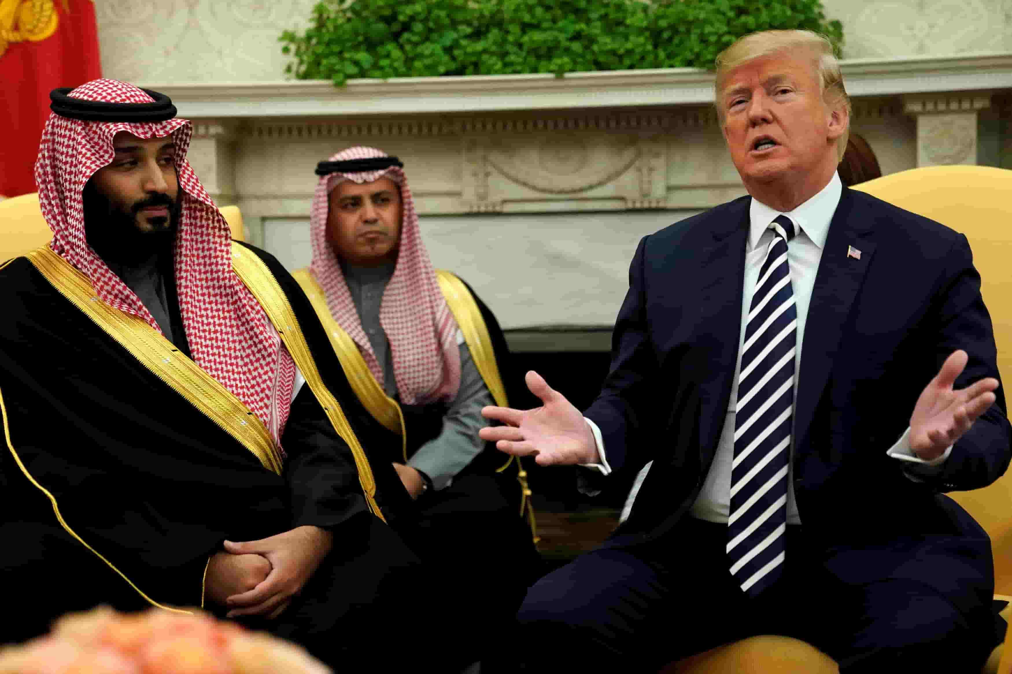 Saudi Stung by Trump
