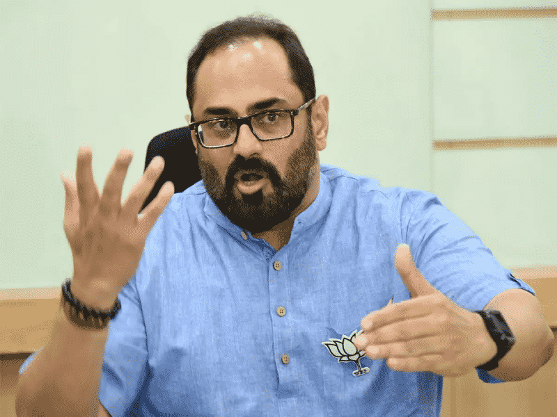 Rajeev Chandrasekhar's Interest Towards Digital Currencies Is What The Economy Needs