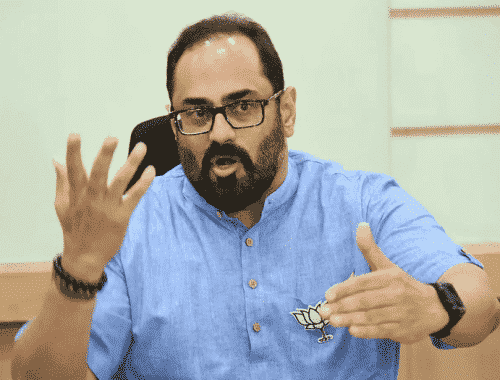 Rajeev Chandrasekhars Interest Towards Digital Currencies