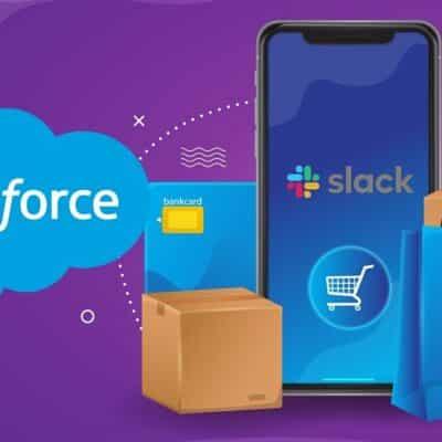 Salesforce Buys Messaging App, Slack
